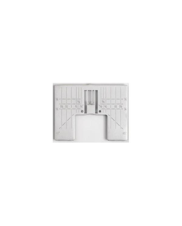 Piastrina per punto zig zag standard con segni guida in pollici - 412964202 -