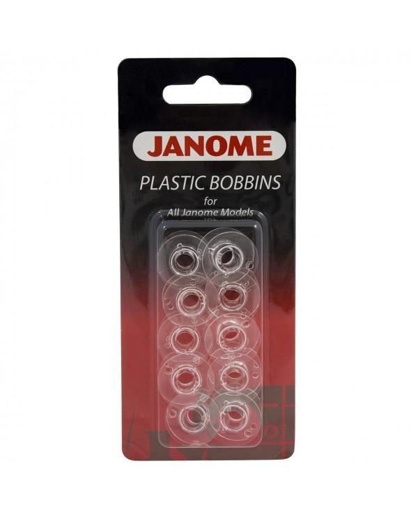 10 Spoline per macchine per cucire Janome