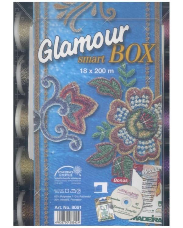 Smart Box con 18 filati metallic Glamour