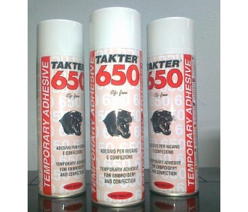 COLLA SPRAY TEMPORANEA 500ml TAKTER 650
