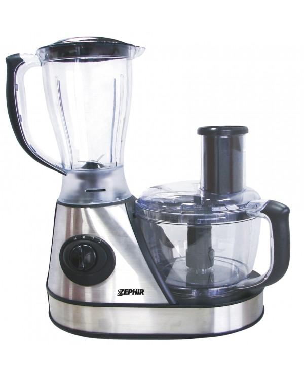 Robot da Cucina capacità 1,4 Litri potenza 500 Watt colore Silver - ZHC1500