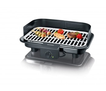 Severin - Barbecue Grill, Nero, dimensioni 50,8 x 39,8 x 12,4 cm, PG 8530