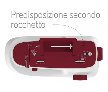 Macchina per cucire Necchi K417A - Cucitura anche con ago gemello