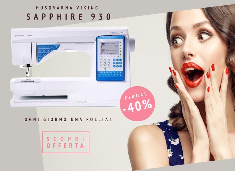 Husqvarna Viking Sapphire 930 Offerta